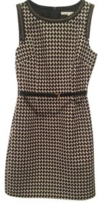 Trina Turk Patterned Houndstooth Dress