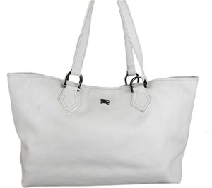 Burberry Tote in White