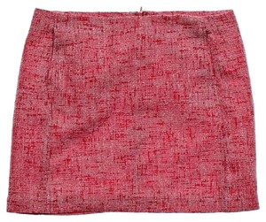 Joe Fresh Tweed Mini Skirt Red