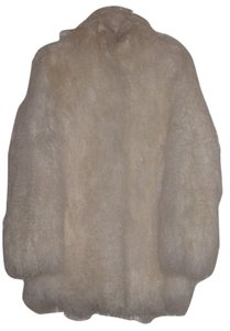 Damselle New York Tibetan Curly Fur Coat