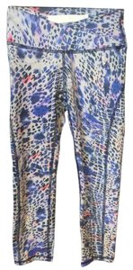 Ellie Shoes Ellie Violet Leopard Crop Leggings