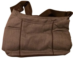 Tote in Gray Brushed Twill