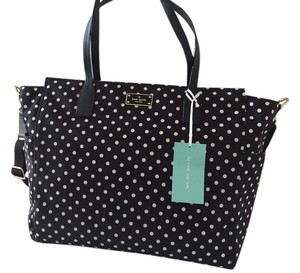 Kate Spade Black and white polka dots Diaper Bag