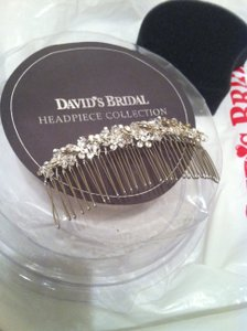 David's Bridal Rhinestone & Crystal Bridal Headpiece/comb