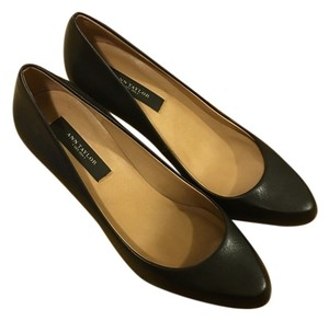 Ann Taylor Leather Pump Black Pumps