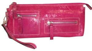 Nordstrom Leather Wristlet in Pink