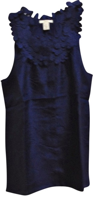 Preload https://item1.tradesy.com/images/jcrew-navy-blue-spring-parisian-style-silk-cami-night-out-top-size-petite-2-xs-9629365-0-1.jpg?width=400&height=650