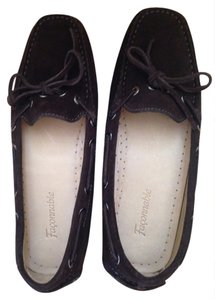Façonnable Chocolate brown Flats