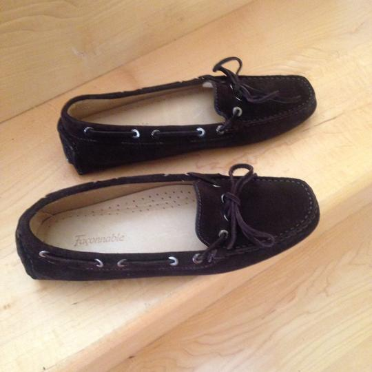 Faonnable Chocolate brown Flats