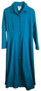 Deep Turquoise Maxi Dress by Coldwater Creek