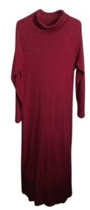 Heather Brick Red Maxi Dress by Coldwater Creek