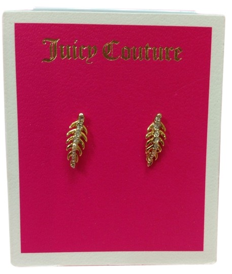 Juicy Couture Juicy Couture E-Pave Feather Stud Earrings YJRU7755 NWT Retail : $38.00 Pave elevates allincluding this feathe