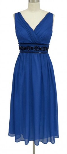 Preload https://img-static.tradesy.com/item/963345/blue-chiffon-goddess-beaded-waist-cocktail-formal-bridesmaidmob-dress-size-16-xl-plus-0x-0-0-540-540.jpg
