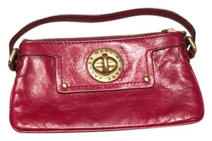 Marc by Marc Jacobs Wristlet in Dark Red
