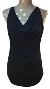 Daytrip Black Cowl Beading Embroidery Festival Top