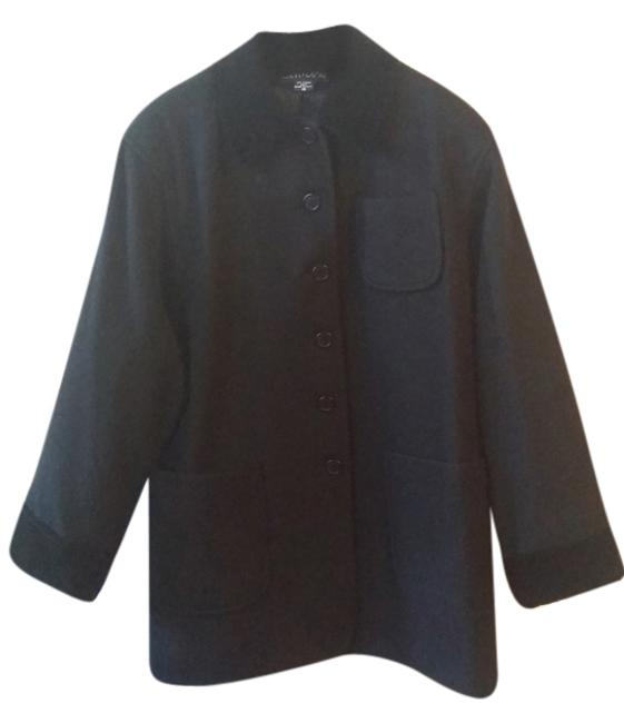 Preload https://img-static.tradesy.com/item/9634219/black-wool-blend-button-down-size-10-m-0-1-650-650.jpg