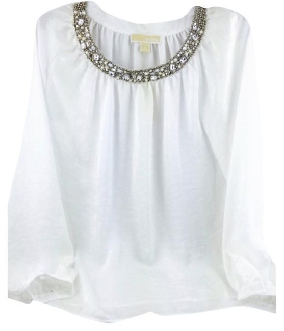 Preload https://item4.tradesy.com/images/michael-kors-white-silk-long-sleeve-with-jeweled-neckline-new-blouse-size-8-m-9634243-0-1.jpg?width=400&height=650