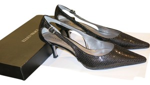 Ellen Tracy Brand New Sequin Black Pumps