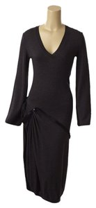Charcoal Grey Maxi Dress by Jean-Paul Gaultier Jean Paul Designer