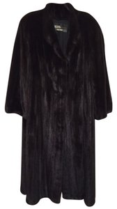 The Evans collection for Jordan Marsh-Black Diamond Mink Fur Coat
