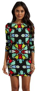 Mara Hoffman short dress Multi Print Cut-out Bodycon Long Sleeve on Tradesy