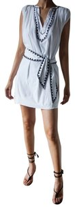J.Crew short dress white Cotton Short Cotton Beach Hamptoms on Tradesy