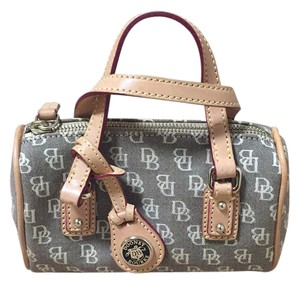 Dooney & Bourke Mini Barrel Satchel in Brown