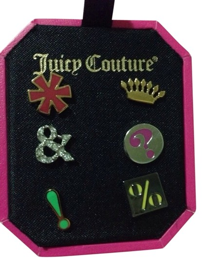 Preload https://item2.tradesy.com/images/juicy-couture-multicolor-mismatched-stud-set-963516-0-0.jpg?width=440&height=440