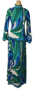 Maxi Dress by Emilo Pucci Silk