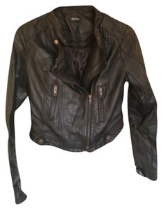 Dede Faux Leather Motorcycle Motorcycle Jacket