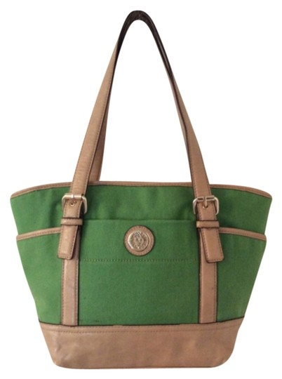 Preload https://item3.tradesy.com/images/anne-klein-green-man-made-tote-9635812-0-1.jpg?width=440&height=440