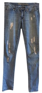 Flying Monkey Skinny Jeans-Distressed