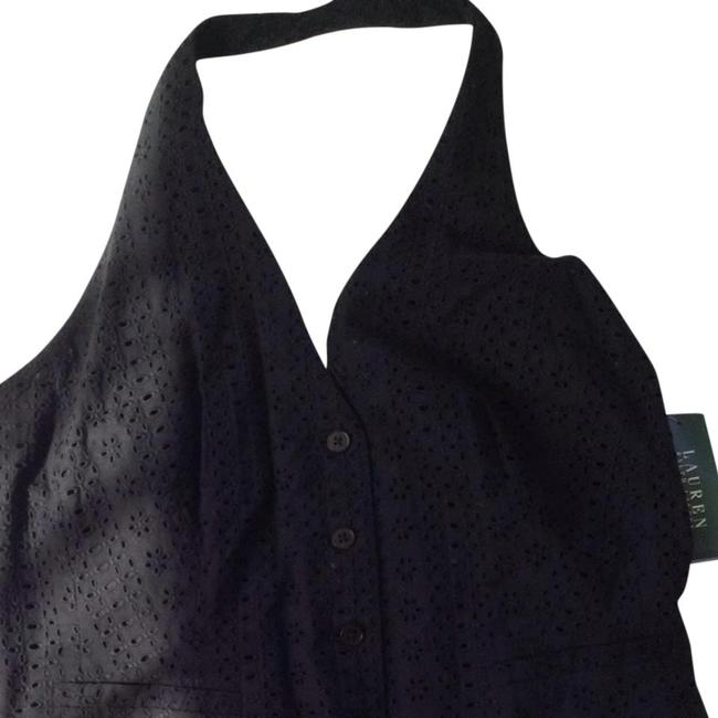 Preload https://item2.tradesy.com/images/ralph-lauren-black-eyelet-cotton-fully-lined-button-front-halter-top-size-16-xl-plus-0x-963671-0-0.jpg?width=400&height=650
