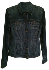 Eddie Bauer Dark denim Womens Jean Jacket