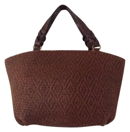 Preload https://img-static.tradesy.com/item/9636853/fossil-tote-brown-woven-leather-shoulder-bag-0-1-540-540.jpg