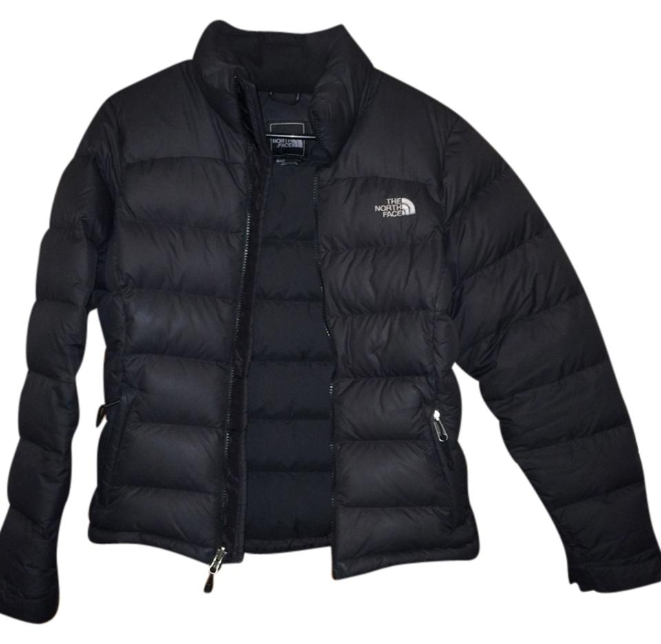 The North Face Black 700 Fill-goose Down Jacket Coat Size 4 (S ... ff75dde82