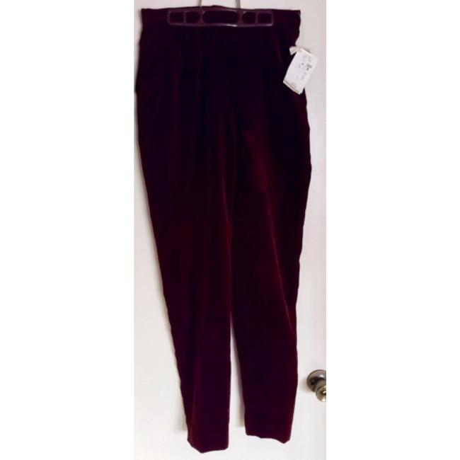 Preston & York Trouser Pants Really brown, velour