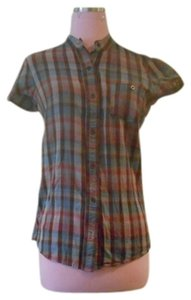 Urban Outfitters Button Down Shirt MULTI