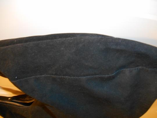 Avon Suede Look Leather Look Faux Suede Faux Leather Purse Shoulder Details Zip Closure Funky Fun Earthy Boho Hand Hobo Bag