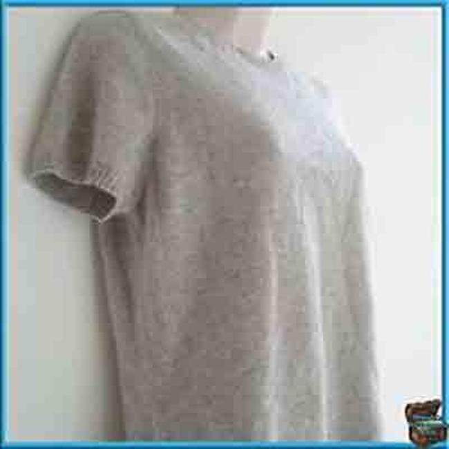Isaac Mizrahi 2- Ply Cashmere; Tee; Fitted; Cashmere: Sweater