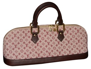 Louis Vuitton Satchel in plum