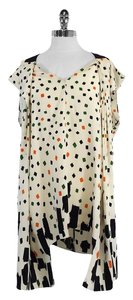 Vionnet short dress Multi Color Geo Print Silk on Tradesy
