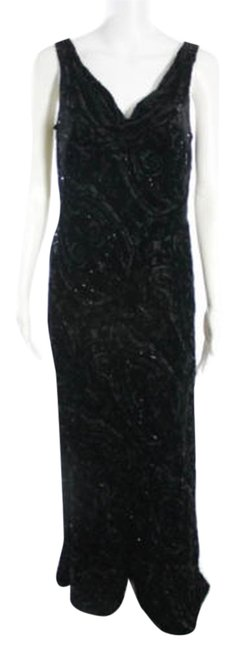 Preload https://img-static.tradesy.com/item/9638260/carmen-marc-valvo-black-b-beaded-sleeveless-long-formal-dress-size-8-m-0-1-650-650.jpg