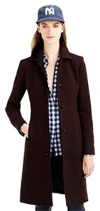 J.Crew Double Cloth Lady Day Lady Brown Trench Coat