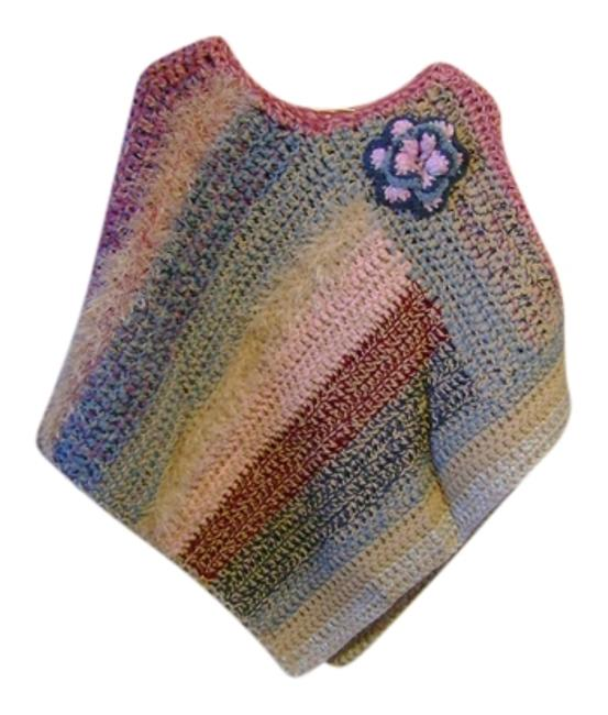 Preload https://img-static.tradesy.com/item/9639193/multicolor-new-one-of-a-kind-ponchocape-size-os-one-size-0-1-650-650.jpg