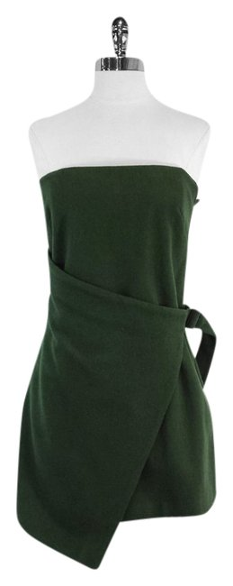 Preload https://img-static.tradesy.com/item/9639304/kate-spade-green-wool-blend-strapless-mini-short-casual-dress-size-4-s-0-1-650-650.jpg