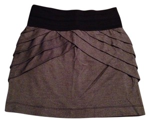 Arden B Mini Mini Skirt Grey