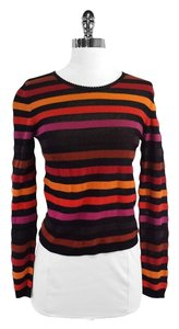 Sonia Rykiel Multi Color Striped Sweater