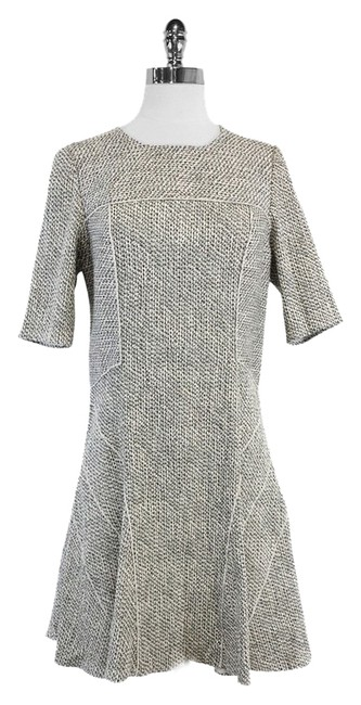 Preload https://item2.tradesy.com/images/derek-lam-black-and-white-speckled-flared-mid-length-short-casual-dress-size-8-m-9639451-0-1.jpg?width=400&height=650