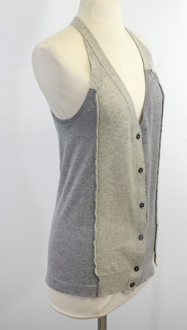 Marc Jacobs Grey Knit Sweater Sweater Vest